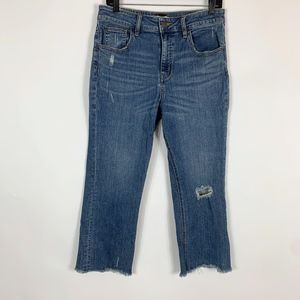 BDG Jeans Women 30 Kick Flare High Rise Cropped